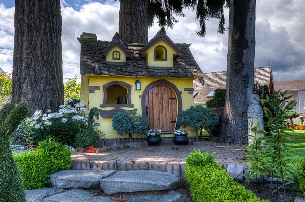 Playhouse - Chemainus, Cowichan Valley, Vancouver Island, British Columbia, Canada