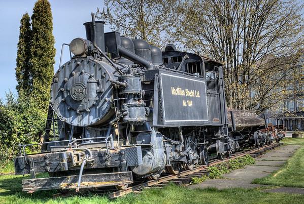 MacMillan Bloedel Ltd. - Train Exhibit - Chemainus BC Canada