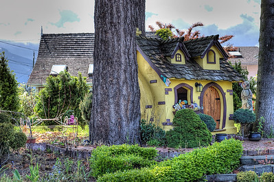 """Play House - Chemainus BC Canada Visit our blog """"A Doll's House"""" for the story behind the photos."""