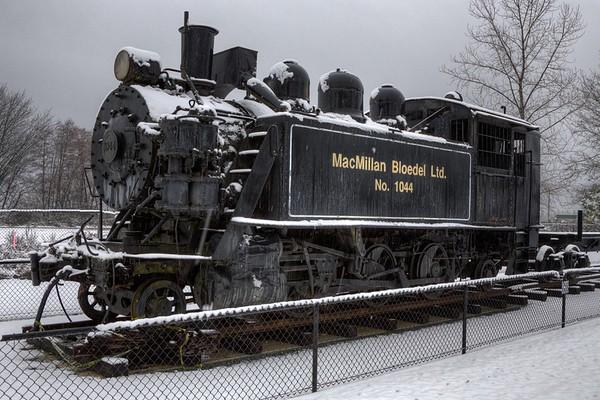 Train - Chemainus, Vancouver Island, BC, Canada