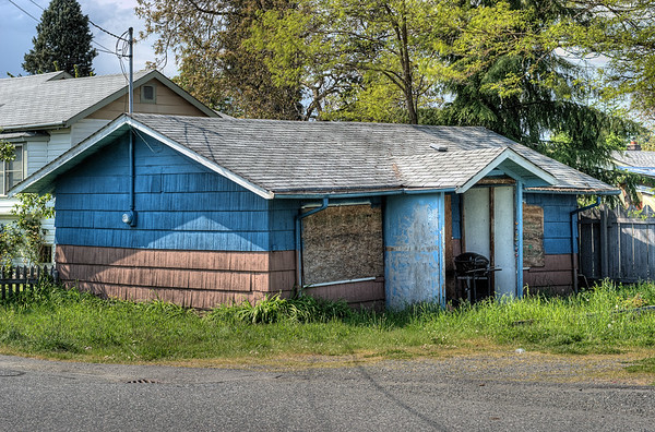 Abandoned Business - Chemainus BC Canada
