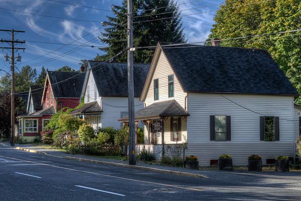 Heritage Character Homes - Chemainus, Vancouver Island, British Columbia, Canada