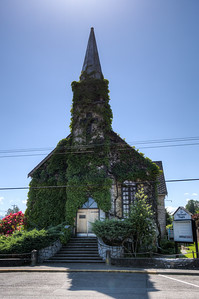 The Old Church Theatre - Courtenay, Vancouver Island, British Columbia, Canada