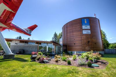 Comox Valley Visitor Centre - Comox, Vancouver Island, British Columbia, Canada