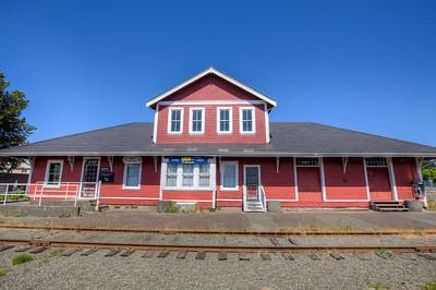 Courtenay Railway Station - Courtenay, Vancouver Island, British Columbia, Canada