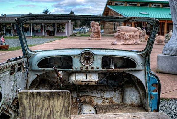Morris Minor - Coombs, BC - Vancouver Island, Canada