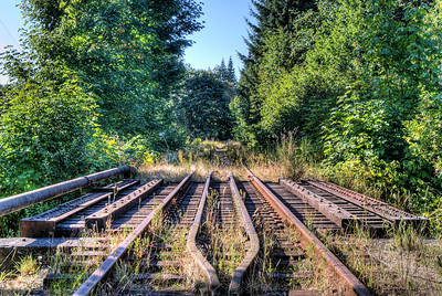 """Cowichan Station Railway Overpass - Cowichan Station BC Canada Visit our blog """"Old Stones"""" for the story behind the photos."""