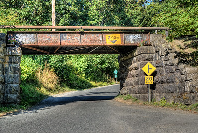 "Cowichan Station Railway Overpass - Cowichan Station BC Canada Visit our blog ""Old Stones"" for the story behind the photos."