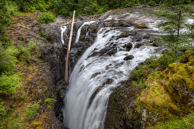 """Englishman River Falls Provincial Park - Vancouver Island, BC, Canada Visit our blog """"Englishman River Falls"""" for the story behind the photo."""