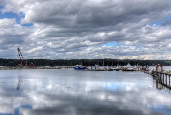 Port McNeill, Vancouver Island, British Columbia, Canada