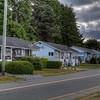 Pretty Houses In A Row - Port McNeill, Vancouver Island, British Columbia, Canada