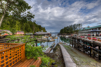 "Telegraph Cove - Vancouver Island, British Columbia, Canada  Please visit our blog ""A Romantic Boardwalk Community"" for the story behind the photo."