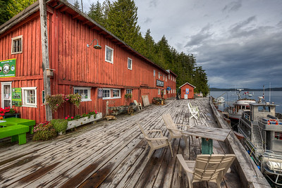 """Telegraph Cove - Vancouver Island, British Columbia, Canada  Please visit our blog """"A Romantic Boardwalk Community"""" for the story behind the photo."""