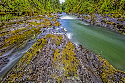 Marie Canyon on the Cowichan River