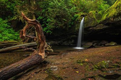 Stocking Creek Falls Basin