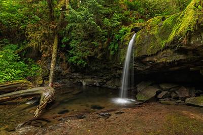 Stocking Creek Falls Sideview