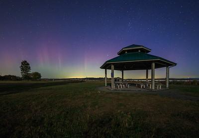 Island View Gazebo Auroras
