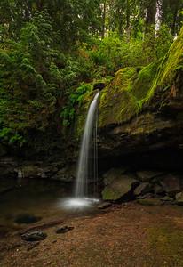 Stocking Creek Falls Vertical III