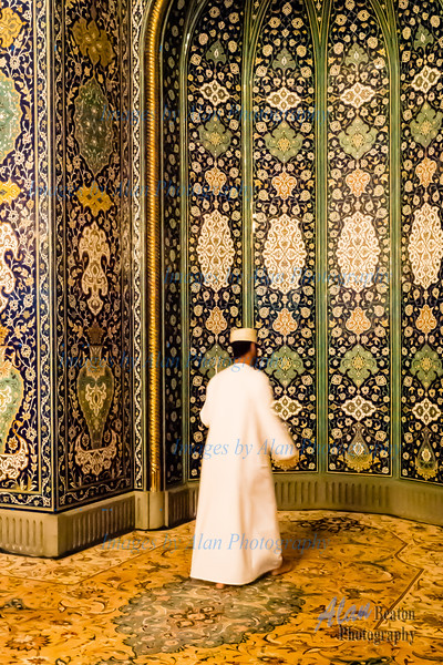 Morning Prayer, Grand Mosque, Muscat, Oman