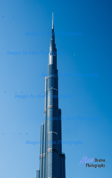 The world's current tallest building at 2,716 feet and over 160 storeys.  Financed by the Khalifa family, the building is named after them.