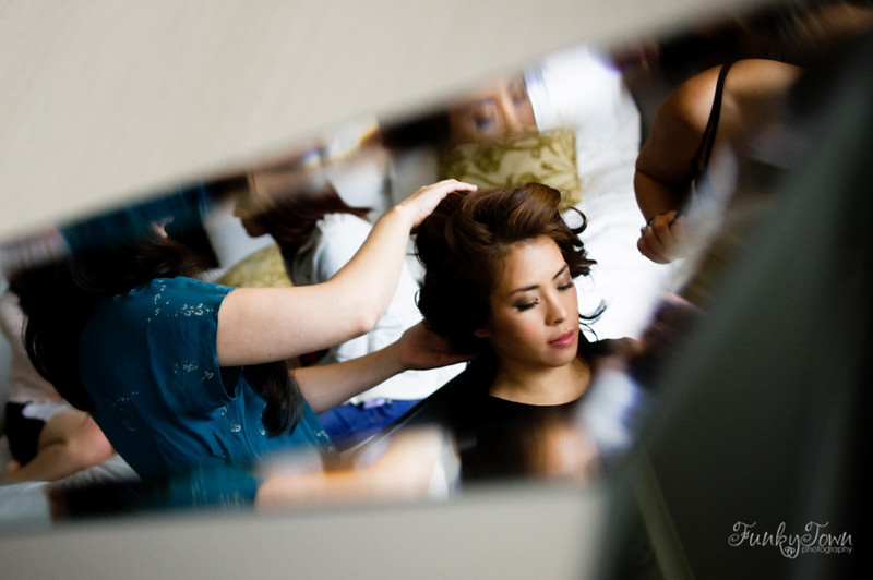 Bridal Preparations at the Fairmont Waterfront