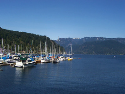 April '06: A Lovely Spring Day in Deep Cove, BC