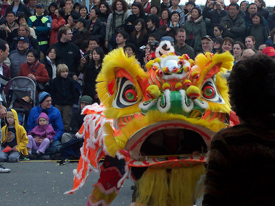<b>Feb. '07:  Chinese New Year Parade</b>