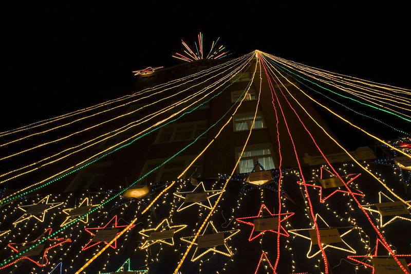St Paul's hospital Christmas lights