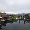 Boathouses on Cowichan Bay