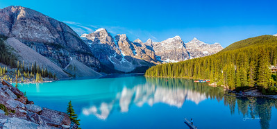 Majestic Moraine Lake