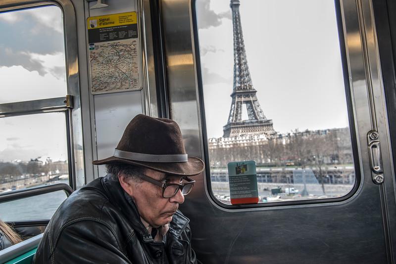 Parijs vandaag 22 maart 11.30, foto Emmy Scheele