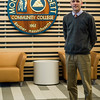 Mount Wachusett Community College President James Vander Hooven speaks about his first week on the job on Friday, March 24, 2017. SENTINEL & ENTERPRISE / Ashley Green