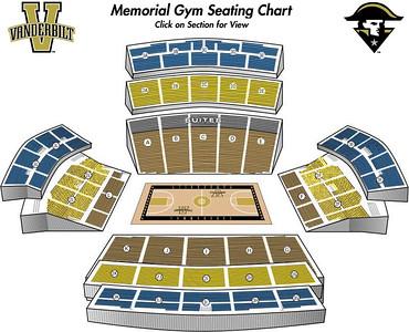 Vanderbilt Memorial Gym Seating Chart