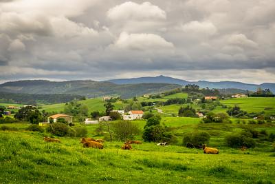 Dag 1.  Camino Del Norte.  Santander - Santillana del Mar.