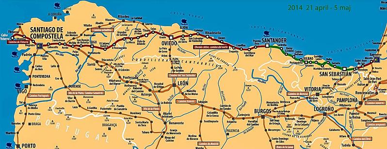 Vandring Pa Camino Del Norte Gennem Baskerlandet I Nordspanien