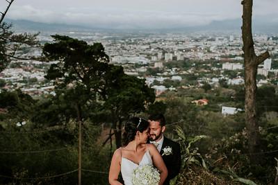 Vanessa & Edwin Escazu Wedding