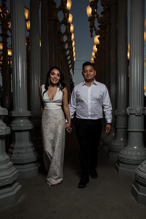 Vanessa &  RJ engagement