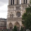 Noon Bells of Notre Dame from our Hotel Room