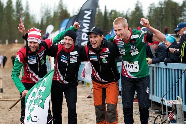 Frederic Tranchand, Jesse Laukkarinen, Fredric Portin, Olav Lundanes