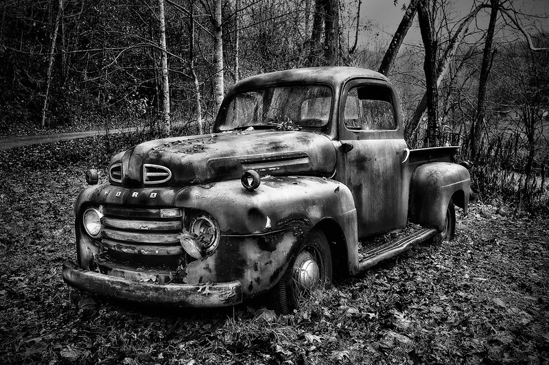 Pickup; Boone; North Carolina; USA