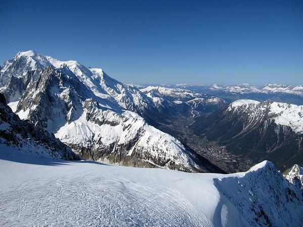 Chamonix 2011 | Nástup k l. Argentiere