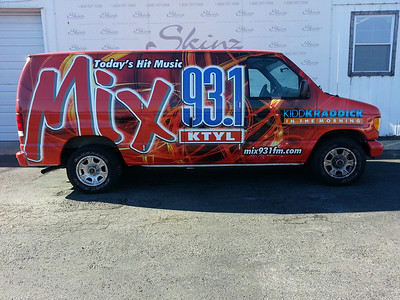 Mix 93.1, Ford E150, Dallas, TX