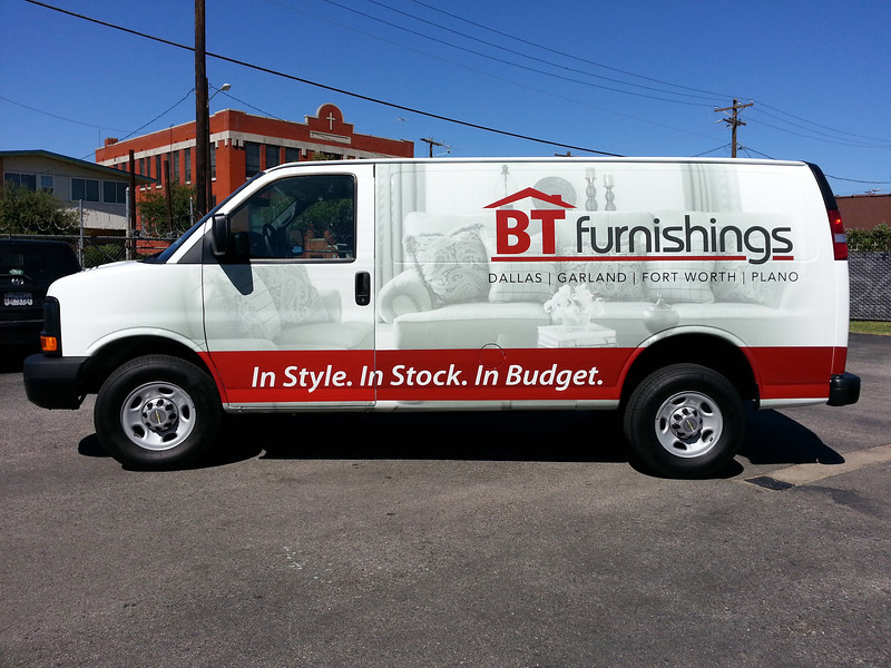 BT Furnishings, '11 Ford E250, Dallas, TX