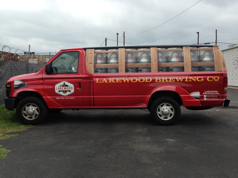 Lakewood Brewing Co., Cargo Van, Dallas, TX