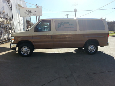 McShan Florist, '14 Ford E350, Dallas, TX