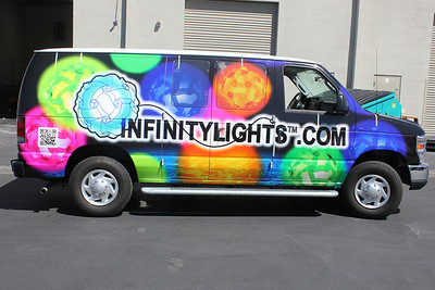 Infinity Lights, Cargo Van, Dallas, TX