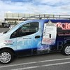 Full custom designed SkinzWrap on a Nissan NV200 for Cal Building and Maintenance Industries, CBMI, Hawthorne, CA