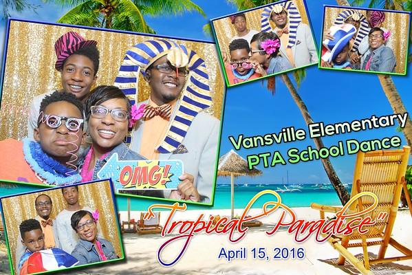 Vansville Elementary Spring Dance 2016