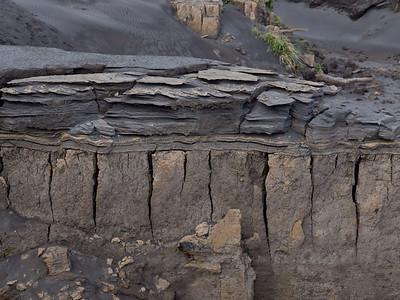 Mt Yasur ash deposits