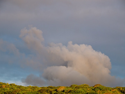 Mt Yasur - Tanna.  As seen from Port Resolution.